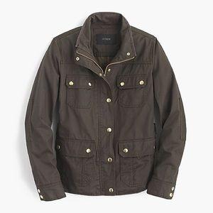 J. Crew Jackets & Coats - J.CREW MOSSY BROWN DOWNTOWN FIELD JACKET SZ S $148